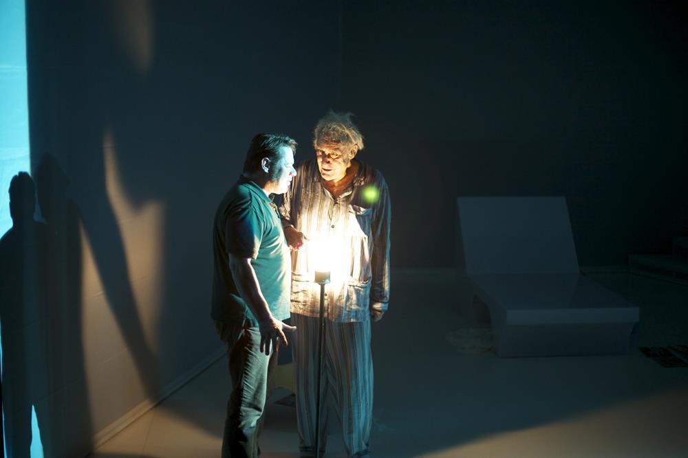 Philippe Morier Genoud Fabien Orcier- Racines 2014 - Theâtre du Rond Point Salle Topor ©Pierre Grosbois