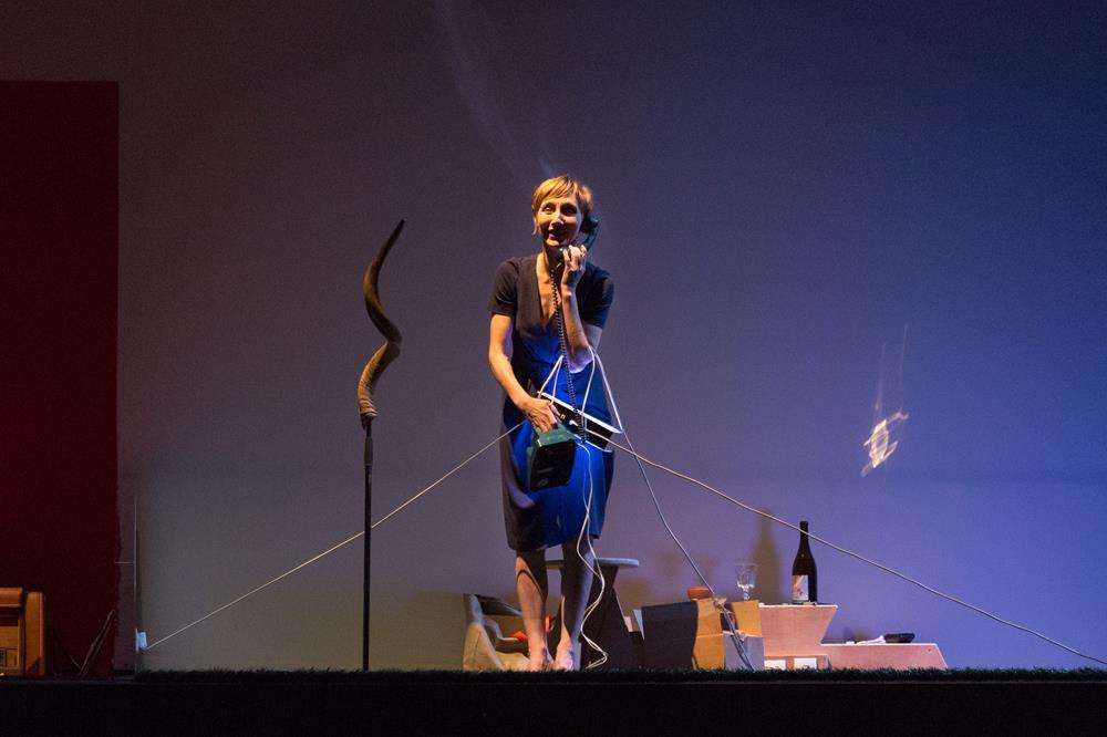 Nathalie Richard – Allelujah Lost (Replay) ©Pierre Grosbois