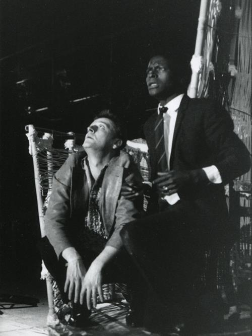 Patrick Pineau et Moussa Theophile Sowie Acte 2 La Capitale Secrète © Pedro Lombardi