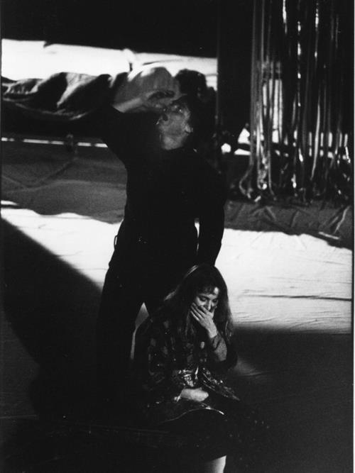 Fabien Orcier et Barbara Bouley  Acte 1 La Capitale Secrète © Pedro Lombardi
