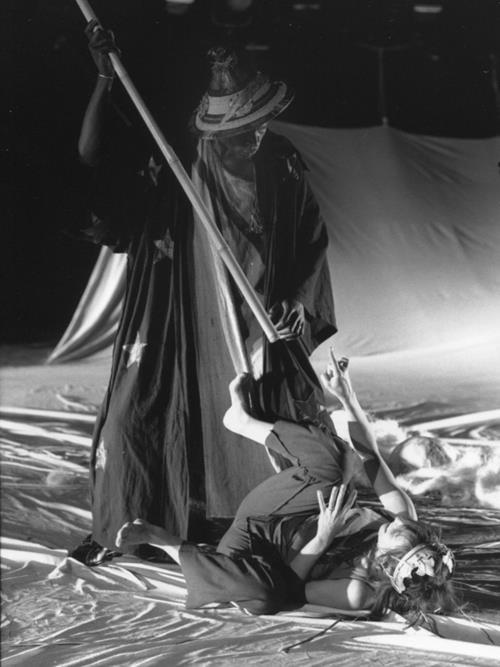 Moussa Théophile Sowie et Sylvie Orcier Acte 3 La Capitale Secrète Salle Philippe Clévenot Théâtre de Gennevilliers  © Perdro Lombardi