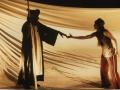 Moussa Théophile Sowie et Sylvie Orcier Acte 3 La Capitale Secrète Théâtre de Gennevilliers Salle Philippe Clévenot © Pedro Lombardi