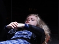 Anne Lise Heimburger – Danger pudique La Tour - Théâtre de Gennevilliers – Salle Maria Casares – 1997 ©Philippe ABRIEUX