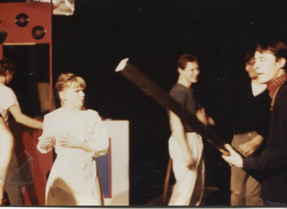 Patricia Bilal, Fabien Orcier, Alain Fromager / Scorches Salle Beaumarchais Cours Florent