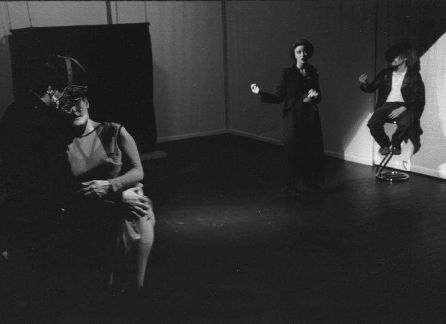 Massimo Bellini Ana Karina Lombardi Marie Desgranges Cyril Dubreuil Suivez- Moi - Théâtre Gérard Philipe de St-Denis © Pedro Lombardi