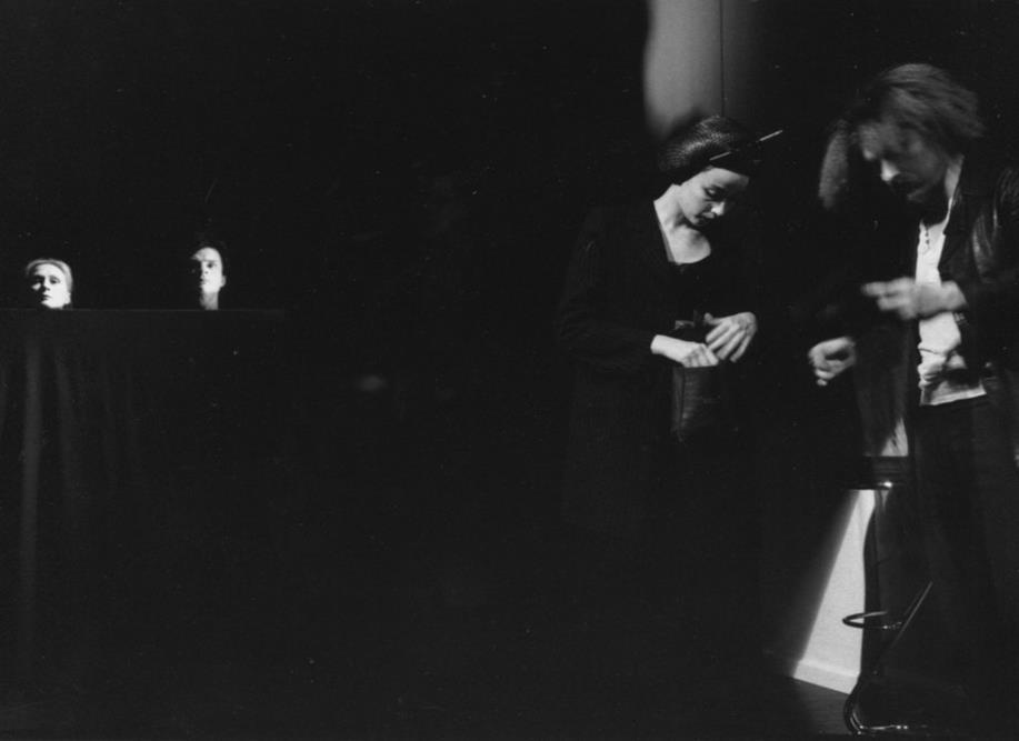 Hélène Alexandridis Pierre Hiessler Marie Desgranges Cyril Dubreuil  Suivez- Moi - Théâtre Gérard Philipe de St-Denis    © Pedro Lombardi