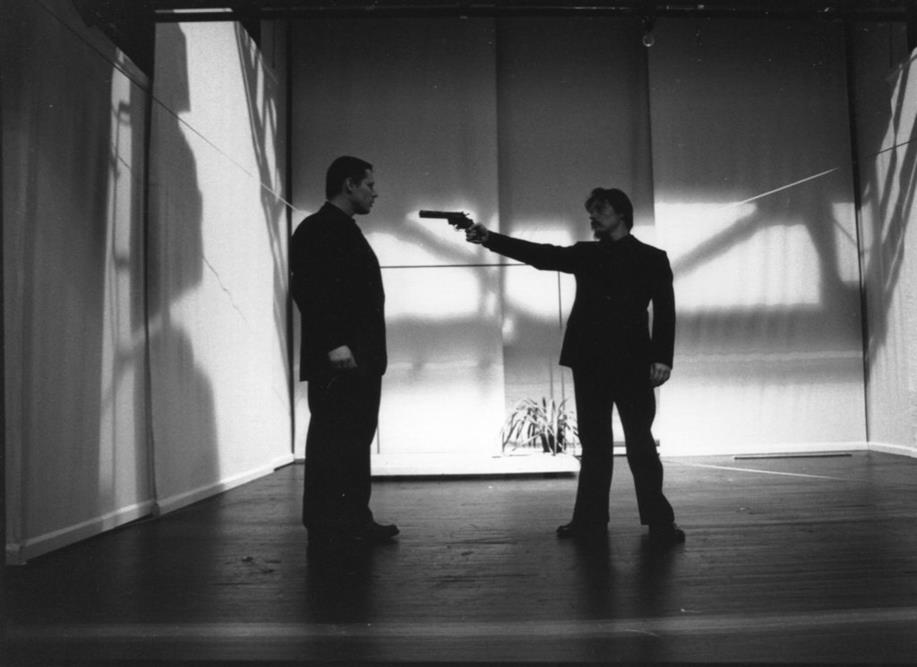 Fabien Orcier  Cyril Dubreuil  Suivez- Moi - Théâtre Gérard Philipe de St-Denis    © Pedro Lombardi