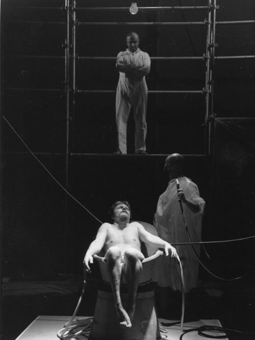 Didier Girard Cyril Dubreuil Gael Baron  Suivez- Moi - Théâtre Gérard Philipe de St-Denis    © Pedro Lombardi
